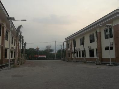 Proyek PJU di Pengadilan Agama Juanda Sidoarjo
