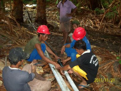 Proyek Pompa Air Tenaga Surya di Sulawesi