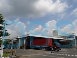 Proyek PJU di Yamaha Pasuruan