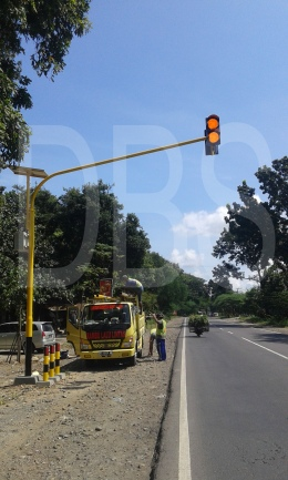Proyek Warning Light di Magelang