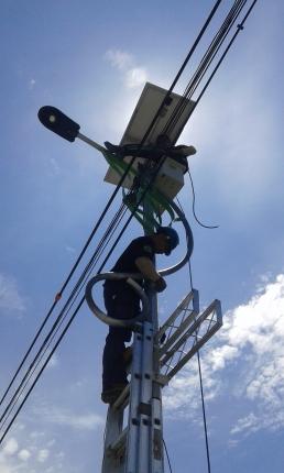 Proyek PJU di Timika, Papua