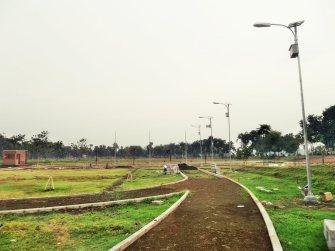 Proyek PJU di Taman Angkasa, Jombang