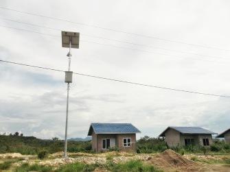 Proyek PJU di Kendari ,Sulawesi