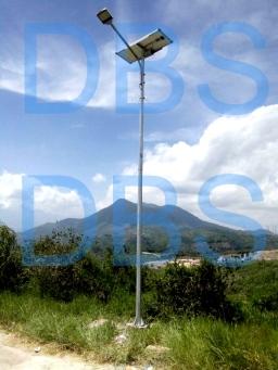 Proyek PJU menggunakan Baterai Lithiumdi di Bandung