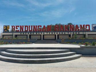 Proyek PJU di Bendungan Raknamo, Kupang